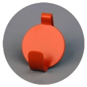 (まとめ)石膏ボード壁専用フック Petaフック あかね (オレンジ) [1パック(2個入)]【×10セット】