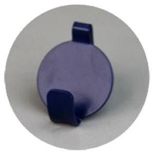 (まとめ)石膏ボード壁専用フック Petaフック のうこん (ネイビー) [1パック(2個入)]【×10セット】