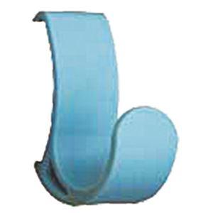 (まとめ)コートハンガーレール専用フック ブルー SK-CHR-F1 [1個]【×10セット】