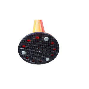 【1本】ポリウレタン製視線誘導標/ソフトコーン 【接着タイプ】 高さ1000mm 専用連結ボルト付属