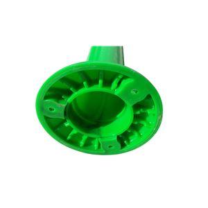 【5本セット】 PVC製視線誘導標/ソフトコーンH 【緑色】 高さ750mm 専用固定アンカーセット