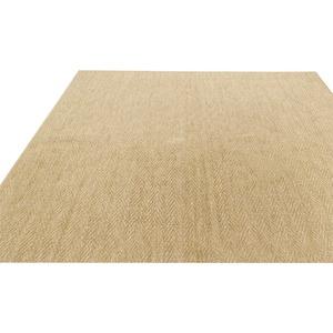 フリーカットができる抗菌・防臭カーペット 江戸間6畳(261×352cm) ベージュ 平織りカーペット ラグ マット シアトル - 拡大画像
