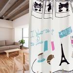 ディズニー ミッキーマウス カーテン 【2枚組 100×135cm/ホワイト】 タッセル付き 洗える 形状記憶 ミッキーPA