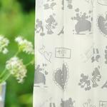 ディズニー ミッキーマウス レースカーテン 【2枚組 100×176cm/ホワイト】 遮像・UVカット機能付き 洗える ミッキーPAL