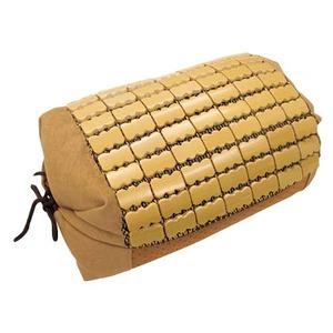 天然素材の涼しさ ひんやり竹枕 【37×25cm/ナチュラル】 接触冷感 バンブー枕 『ドミノ枕』