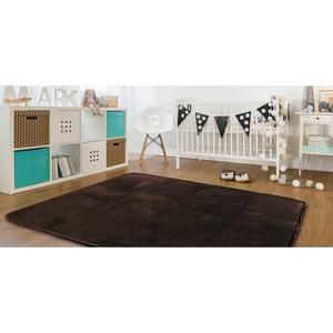 ラグ 185×185cm 正方形 ブラウン 洗える ラグマット ホットカーペット対応 床暖房 秋用 冬用 スペルラグ