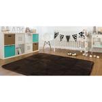 ラグ 185×185 正方形 ブラウン 洗える ラグマット ホットカーペット対応 床暖房 秋用 冬用 スペルラグ