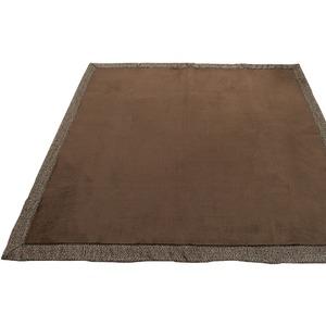 ラグ 200×250cm 長方形 ブラウン 洗える ラグマット ホットカーペット対応 床暖房 秋用 冬用 ミックスラグ