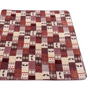 ラグ 200×250cm 長方形 ローズ 洗える ラグマット ホットカーペット対応 床暖房 秋用 冬用 カントリーノルディックラグ