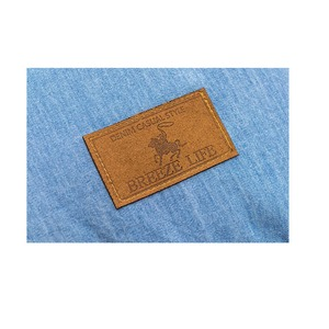 フロアクッション ソファークッション / ネイビー / 直径40cm 円形 綿100% デニム地 シリコン綿 『ジーンズ』