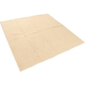 カーペット ラグ 平織 フリーカット ループ / 江戸間 2畳 176×176cm ベージュ プレーン
