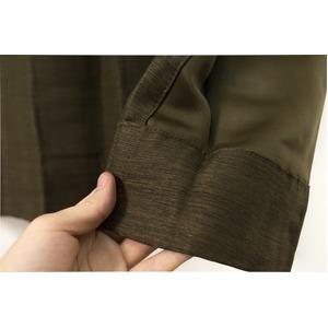 カーテン 洗える ウォッシャブル 洗える 防炎 2級遮光 150×丈178cm ブラウン アール