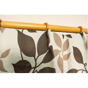 カーテン 洗える ウォッシャブル 洗える 防炎 2級遮光 150×丈225cm アイボリー パルク