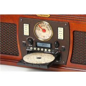 高級木目調仕上げマルチレコードプレーヤー 【Bluetooth受信可】 デジタル録音 スピーカー内蔵 とうしょう TS-69E