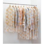 ティッシュ式洋服カバー50枚セット(レース柄)