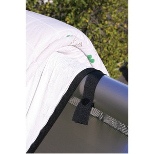 汚れ防止シートにもなる花粉防止ふとん干し袋