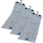 吊り下げ型 強力消臭&除湿シート(クローゼット用) 3枚セット