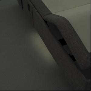 無重力睡眠 ハイグレード 電動リクライニングベッド セミダブル 【フレームのみ】 ベージュ 『テンピュール Zero-G 500』 正規品 20年限定保証付き