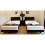 木製ベッド シングル 【フレームのみ】 ブラウン 天然木タモ材使用 『テンピュール Natur』 正規品 1年保証付き