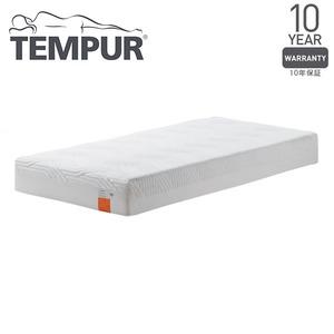 TEMPURかため低反発マットレスダブル『コントゥアスプリーム21〜テンピュール材のかたさとサポート力で抜群の心地よさ〜』正規品10年保証付き