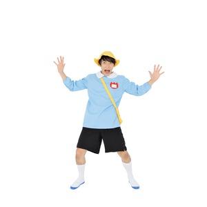 コスプレ衣装/パーティーグッズ 【サクラ保育園 水色】 仮装 イベントグッズ 舞台小物