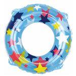 浮き輪 【60cm】 クリスタルスター柄 塩化ビニール樹脂製 〔プール ビーチ 海外旅行〕の画像