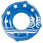 浮き輪 【80cm】 スポーツ柄 塩化ビニール樹脂製 〔プール ビーチ 海外旅行〕の画像