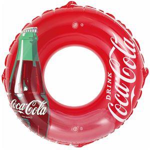 うきわ120cm コカ・コーラ コンツアーボトル