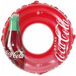 浮き輪 【120cm】 コカ・コーラ コンツアーボトル柄 塩化ビニール樹脂製 〔プール ビーチ 海外旅行〕の画像