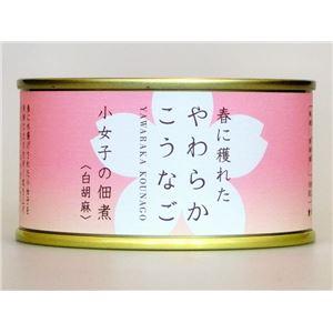 木の屋石巻水産缶詰 小女子の佃煮(白胡麻) 6缶セット