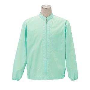 サカノ繊維 工場用白衣男女兼用 インナーネット付 SKA261 グリーン 4Lサイズ