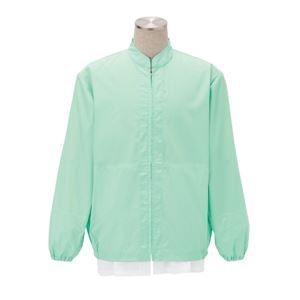 サカノ繊維 工場用白衣男女兼用 インナーネット付 SKA300 グリーン Sサイズ