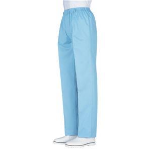 サカノ繊維 工場用白衣男子総ゴムトレパン ノータック SKH99 サックス Sサイズ
