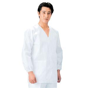 workfriend 調理用白衣男子衿無長袖 S...の商品画像