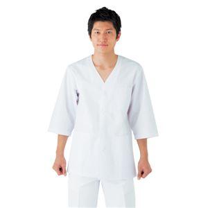 workfriend 調理用白衣男子衿無七分袖 ...の商品画像
