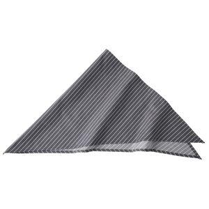 ストライプ三角巾 ブラック KMB2941-23