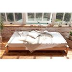 ヘッドレスベッド すのこベッド シングル デイベッド (フレームのみ) ナチュラル