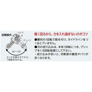 REX工業 427267 RBN67S RBチューブカッタ 薄肉ステンレス用