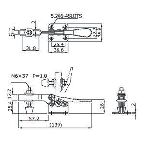 角田興業 トグル クランプ HH350