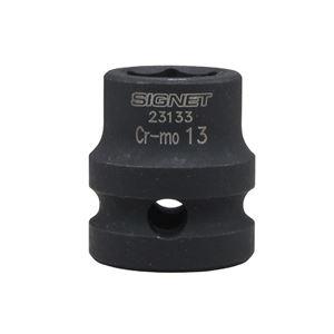 SIGNET(シグネット) 23133 1/2DR インパクト用ショートソケット 13MM
