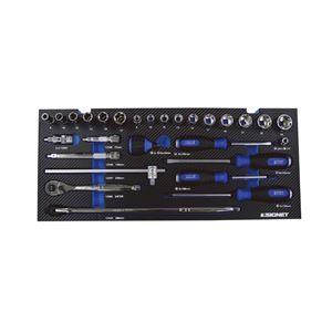 SIGNET(シグネット) 800S-5017PU [50PCメカニックツールセット パープル]