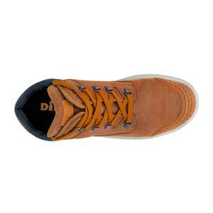 DIKE(ディーケ) 21021-403-28.0cm 作業靴ディガーカプチーノブラウン