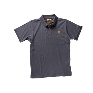 DIKE(ディーケ) 92121/800-S ポロシャツ ポイズ チャコール S