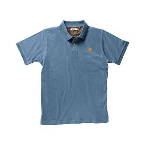 DIKE(ディーケ) 92121/805-L ポロシャツ ポイズ サックスブルー L