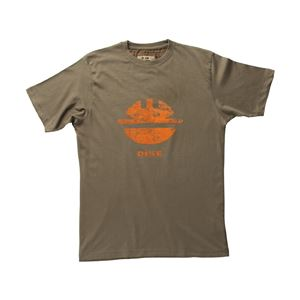 DIKE(ディーケ) 92131/200-XS Tシャツ タイディ ダークブラウン XS