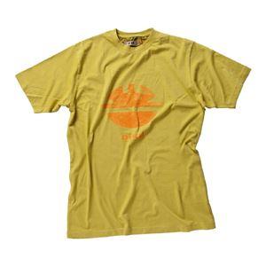 DIKE(ディーケ) 92131/700-S Tシャツ タイディ マスタード S