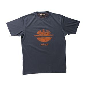 DIKE(ディーケ) 92131/800-L Tシャツ タイディ チャコール L