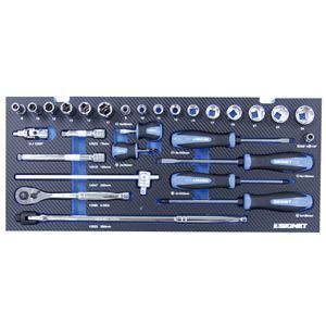 SIGNET(シグネット)800S-4518MR 12.7SQ  45点入りメカニックツールセット マットレッド
