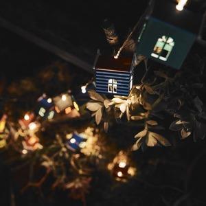 充電式ソーラーライト/ガーデンライト 【Home's】 防水仕様 照度センサー内蔵 - 拡大画像