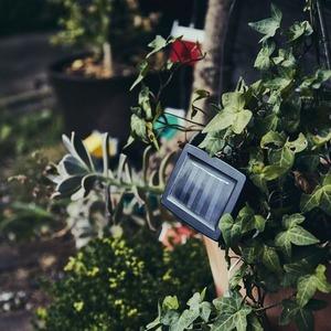 充電式ソーラーライト/ガーデンライト 【Home's】 防水仕様 照度センサー内蔵